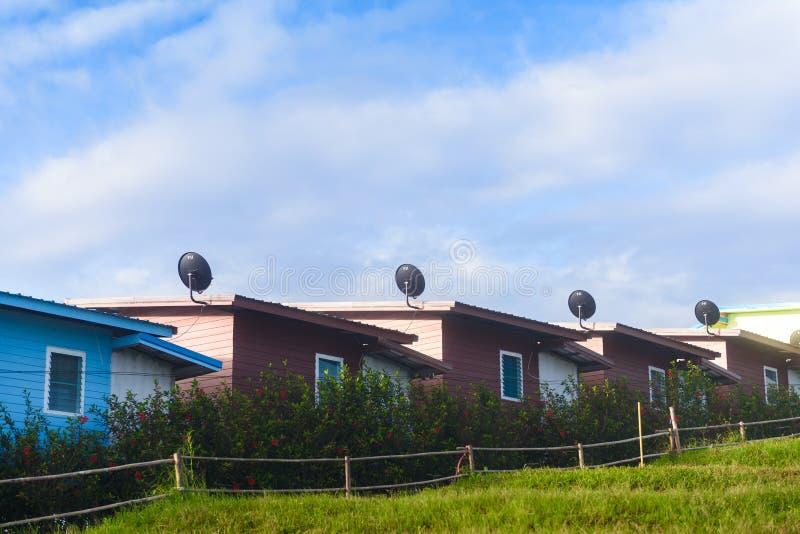 PHUTHAPBOEK PHETCHABUN ТАИЛАНД - 9-ОЕ ОКТЯБРЯ: Курорты и ложи стоковое изображение rf