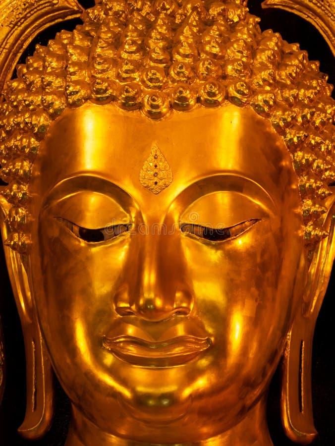 Phuttha Chinnarath Buddha is The Most Beautiful Buddha of Thailand royalty free stock photos