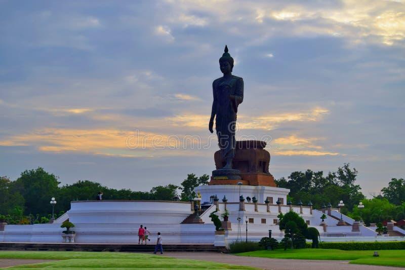 Phutthamonthon in Thailnd stock foto