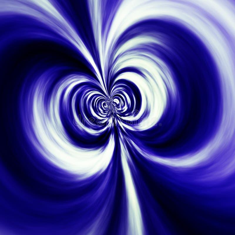 physcis för dipolefält stock illustrationer