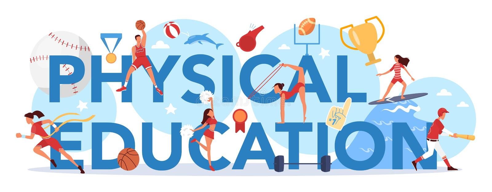 Physical Education Stock Illustrations – 12,441 Physical Education Stock  Illustrations, Vectors & Clipart - Dreamstime