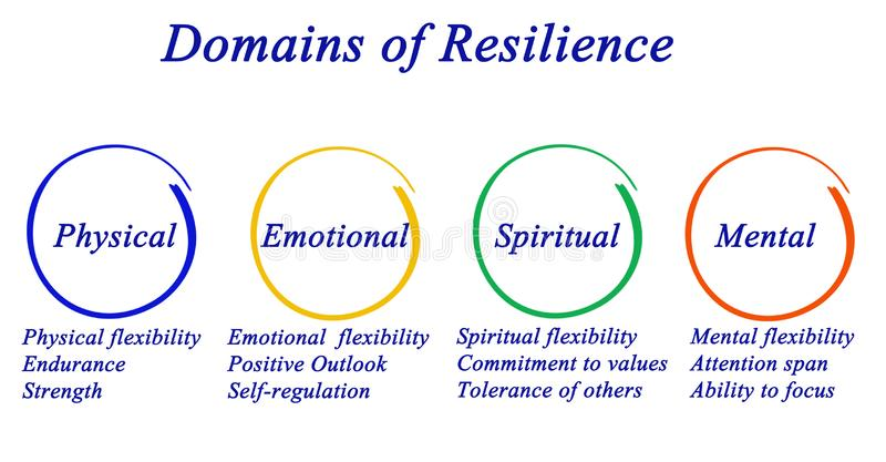 Domains of Resilience royalty free illustration
