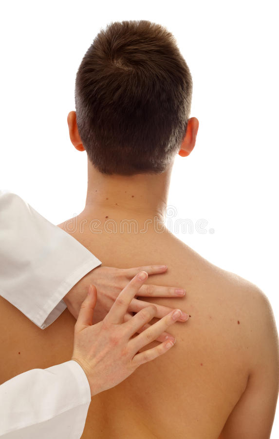 Free Physical Examination Of The Thorax Royalty Free Stock Photo - 29741055