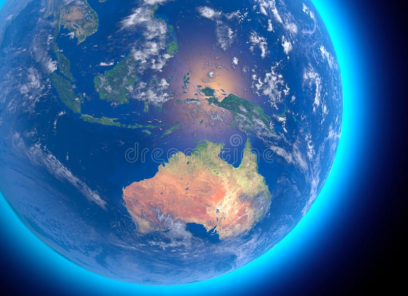 Australia Map Satellite.Satellite Map Australia Stock Illustrations 727 Satellite Map