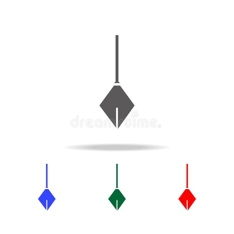 Physical Pendulum icon. Elements of construction tools multi colored icons. Premium quality graphic design icon. Simple icon for w royalty free illustration