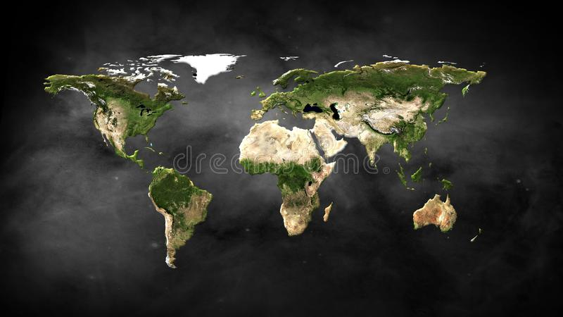 Physical world map illustration elements of this image furnished by download physical world map illustration elements of this image furnished by nasa stock illustration gumiabroncs Image collections