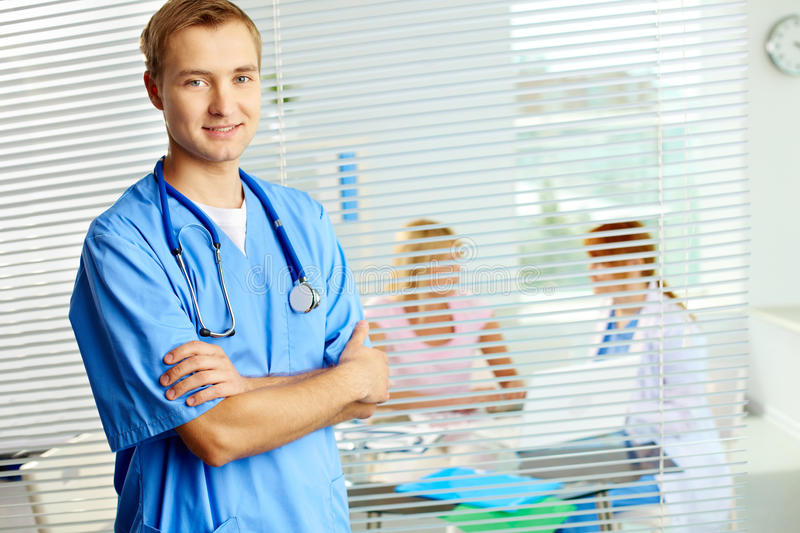 Download Physician stock image. Image of expression, environment - 28363083