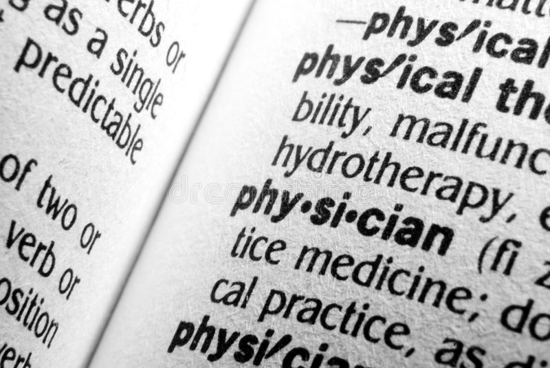 Download Physician stock photo. Image of definition, word, doctor - 5798712