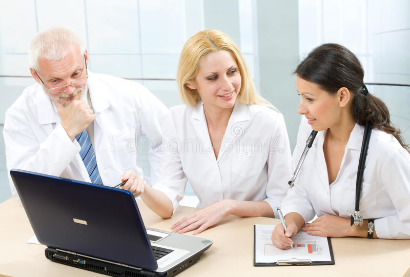 Download Physicians stock image. Image of female, clinic, benevolence - 12379787