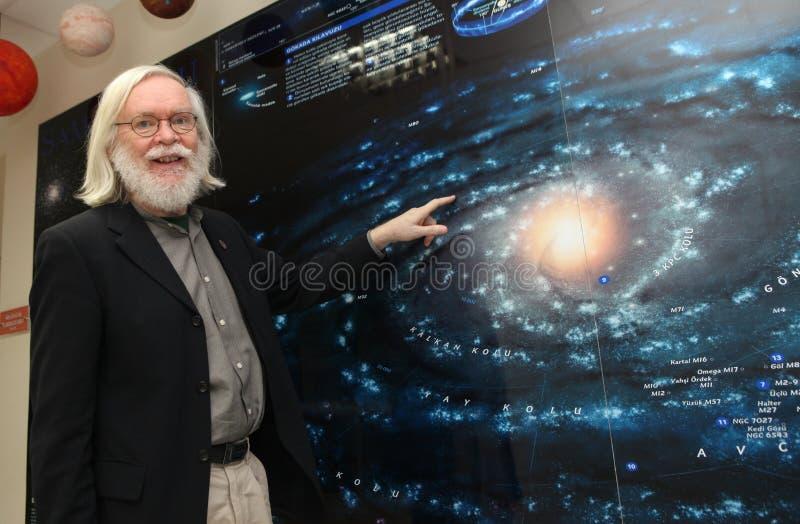 Physicien John Ellis photos libres de droits