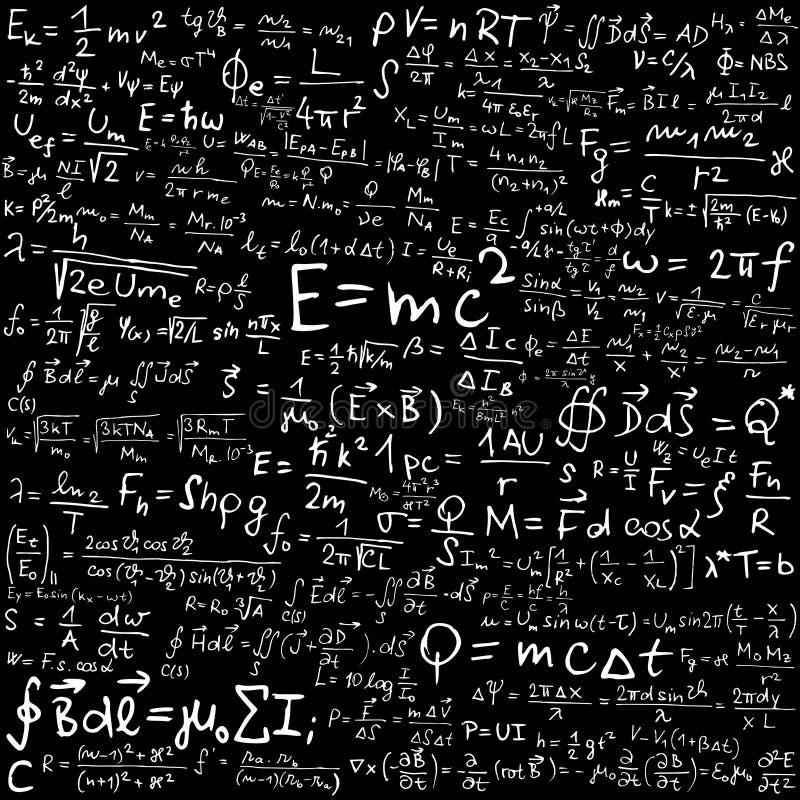 Physics royalty free illustration