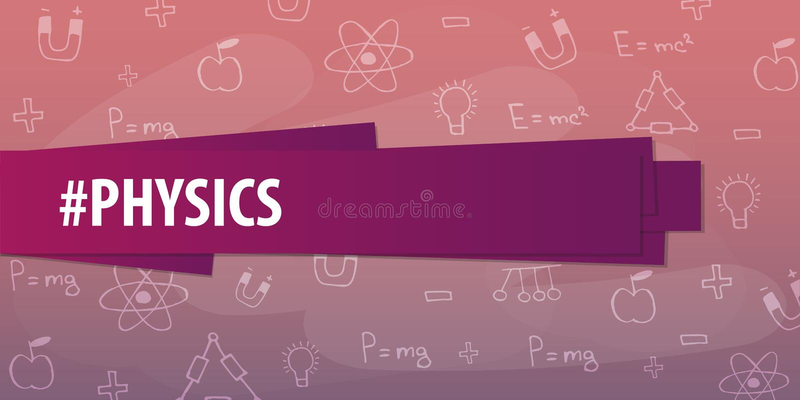 Physics Subject Back To School Background Education Banner Stock Illustration Illustration Of Design Geometry 97995203