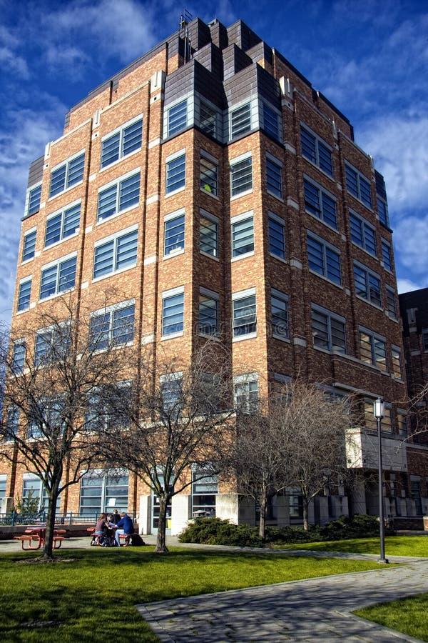 Physik-Gebäude @ das UW lizenzfreies stockfoto