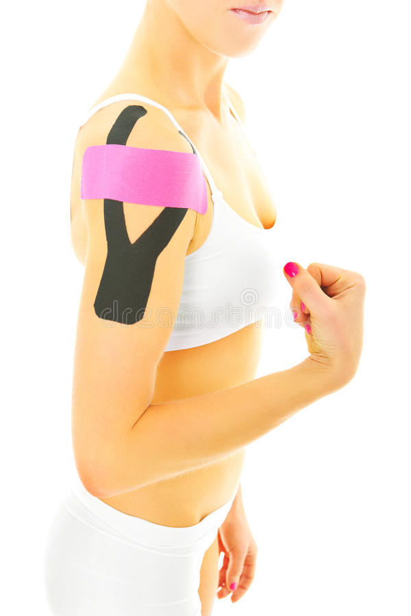 Physio tape stock photography
