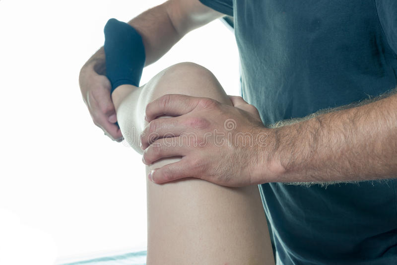 Physiotherapy royalty free stock images