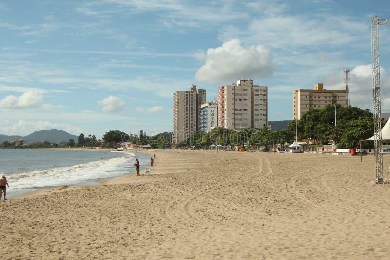 Piçarras - Santa Catarina - le Brésil photo stock