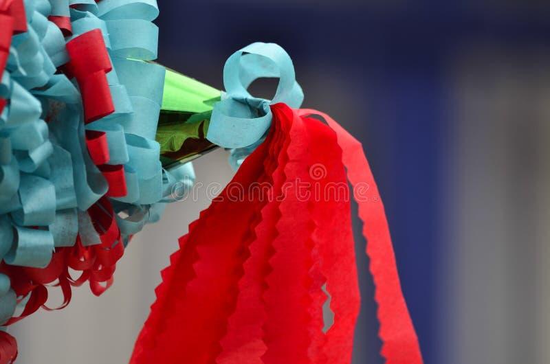 Piñata variopinto messicano fotografie stock