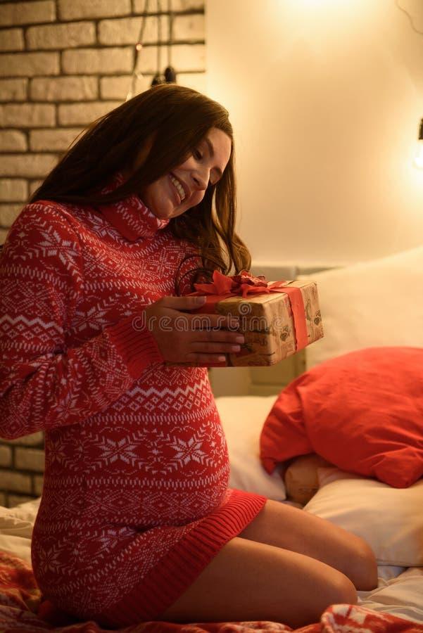 piękna kobieta w ciąży Piękny kobieta w ciąży Oczekuje dziecka zdjęcie royalty free