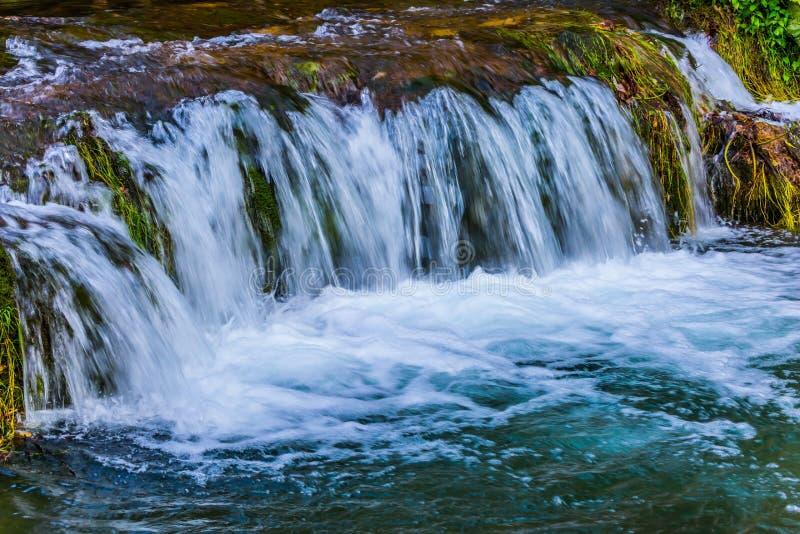 piękne wodospadu fotografia stock