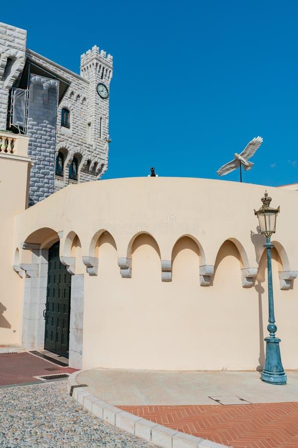 Piękny envirnoment wokoło książe pałac Monaco fotografia royalty free