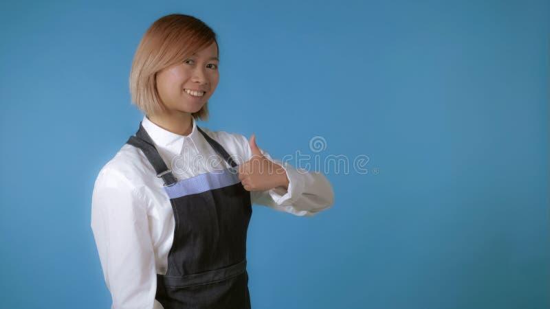 Piękny kobieta kucharz zdjęcia royalty free