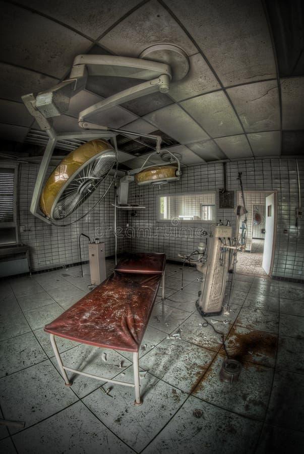 Pièce abandonnée de chirurgie image libre de droits