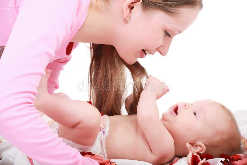 Pièce avec l'enfant en bas âge photo libre de droits