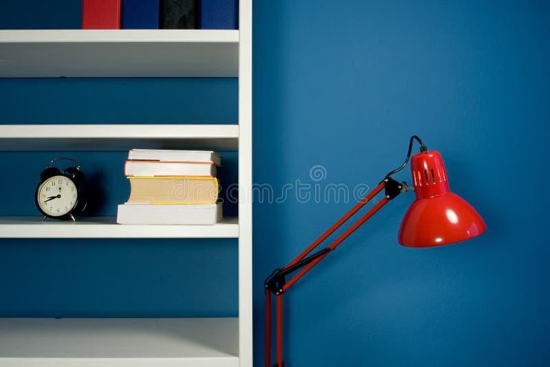 Pièce bleue image stock