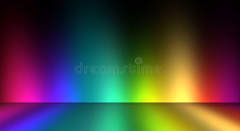 Pièce colorée illustration libre de droits