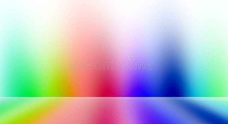 Pièce colorée illustration stock