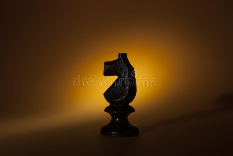 Pièce d'échecs : le cheval photo libre de droits