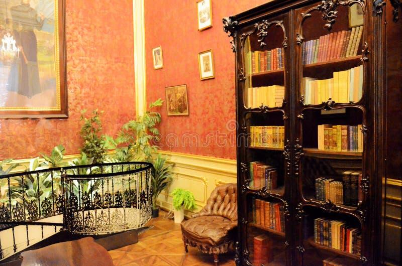 Pièce dans le palais impérial à Vienne photos libres de droits