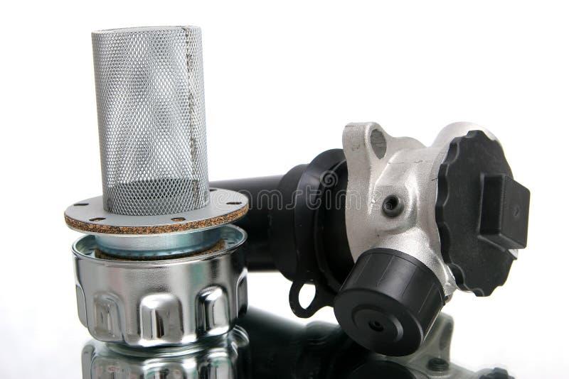 Pièce de chaufferette de construction hydraulique image stock