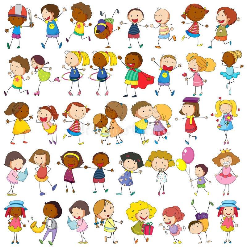 Pièce de Childs illustration stock