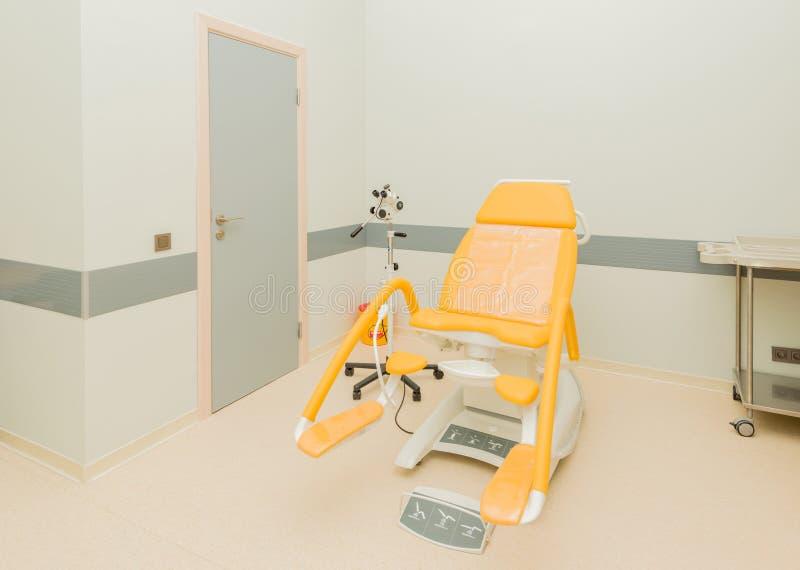 Pièce de gynécologie dans l'hôpital photo libre de droits