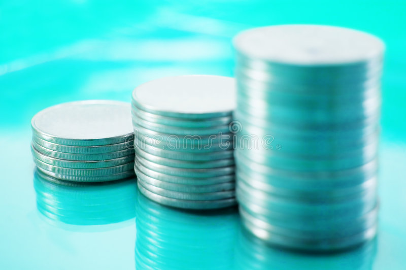 Pièce de monnaie image libre de droits