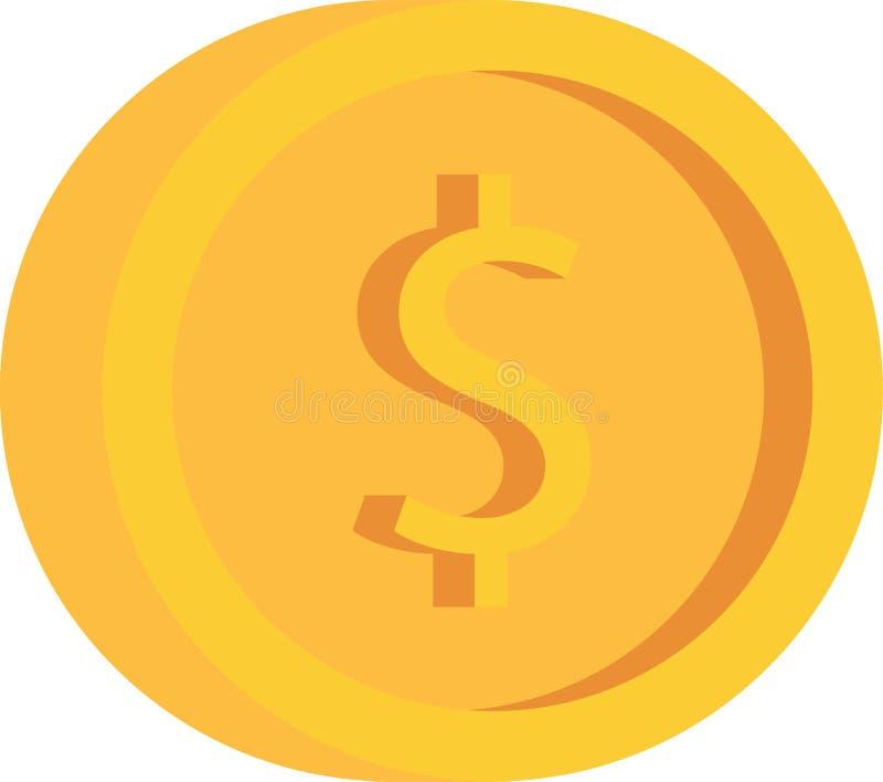 Pièce de monnaie d'argent photo libre de droits