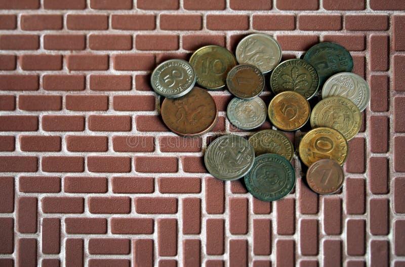 Pièce de monnaie d'argent photographie stock libre de droits