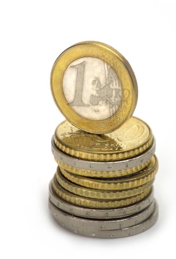 Pièce de monnaie d'Eu images libres de droits