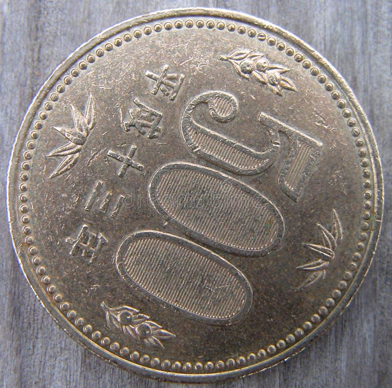 Pièce De Monnaie De 500 Yens Images stock