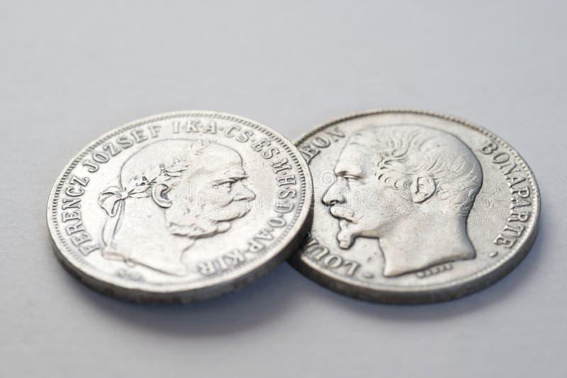 Pièce de monnaie de l'Argentine photographie stock libre de droits
