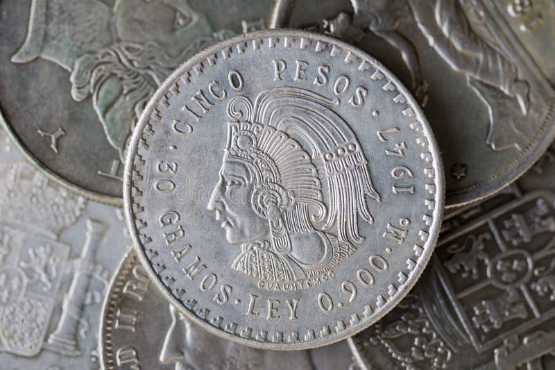 Pièce de monnaie de l'Argentine photo stock