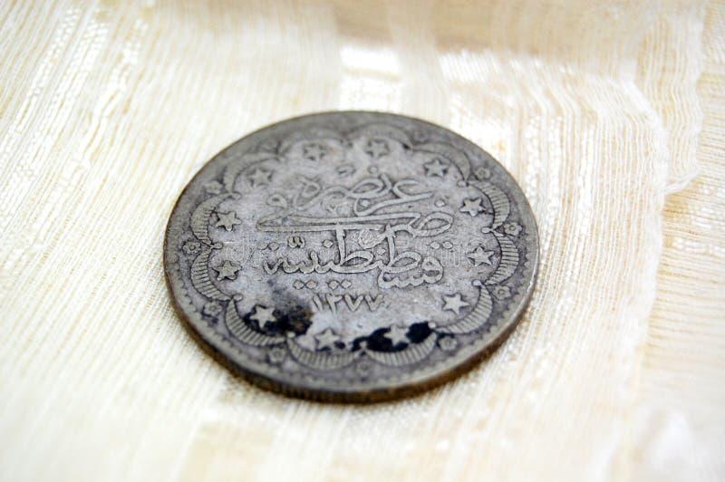 Pièce de monnaie de tabouret photos libres de droits