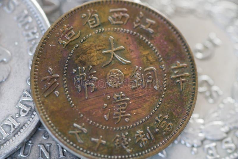 Pièce de monnaie de tonnelier images stock