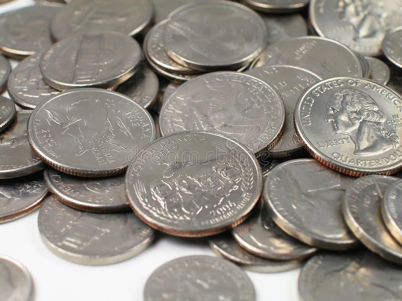 Pièce de monnaie-Sud Dakota photos libres de droits