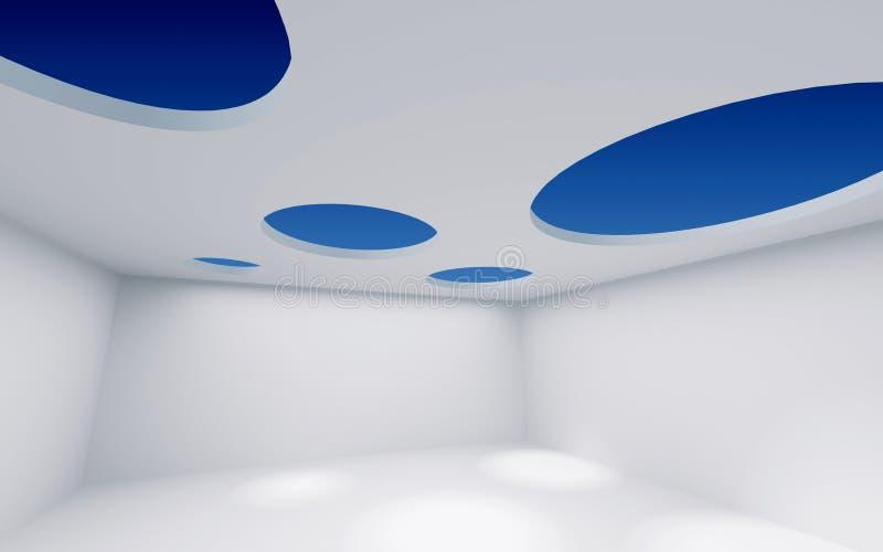 Pièce de plafond de trou illustration de vecteur