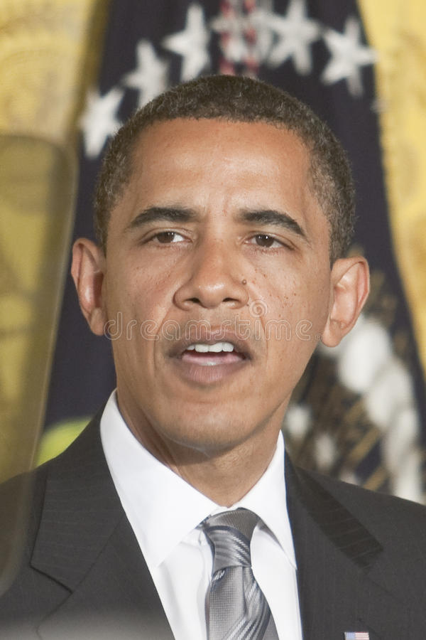 Pièce est d'obama de Barack images stock