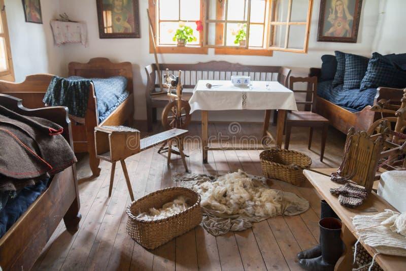 Pièce folklorique traditionnelle en Slovaquie photographie stock