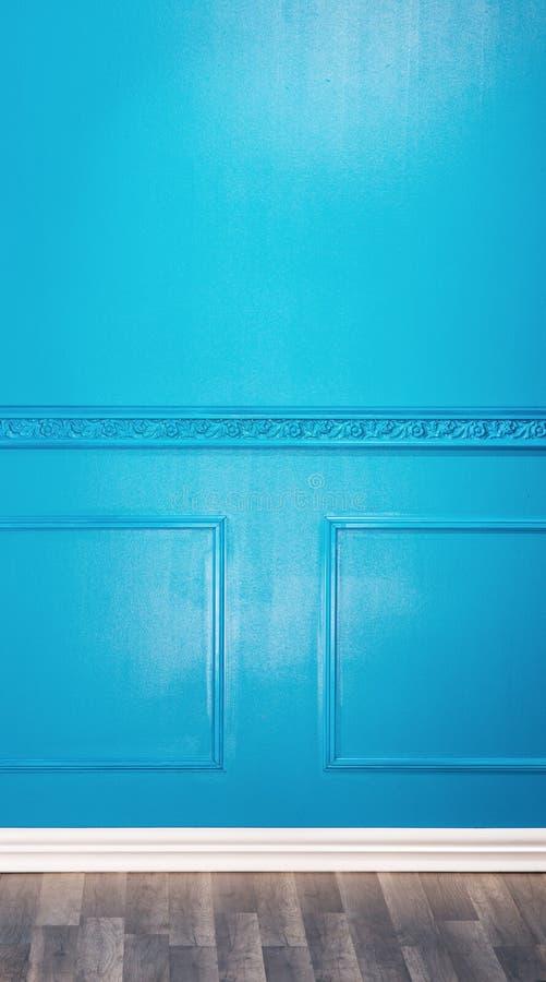 Pièce foncée de bleu de cru photos stock