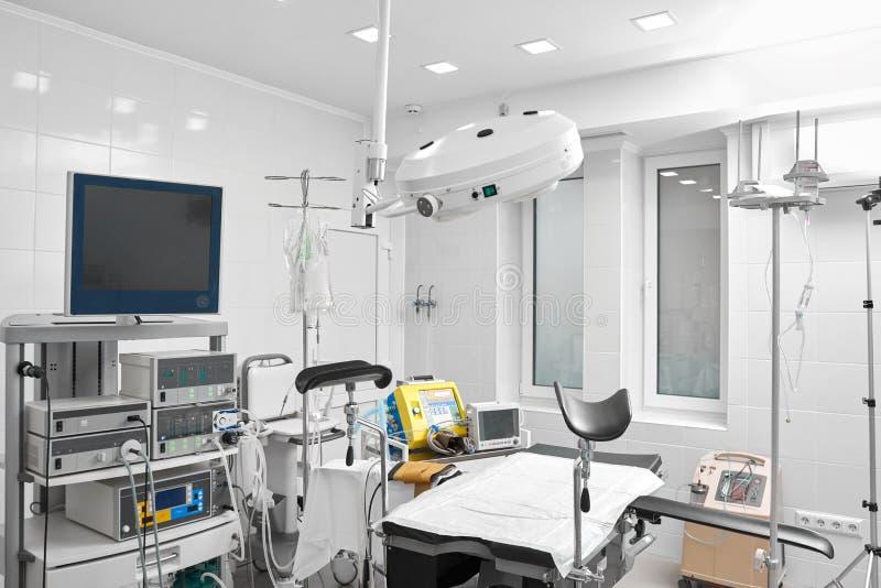 Pièce gynécologique à l'hôpital photos stock